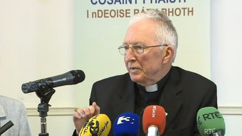 Bishop Philip Boyce has been criticised for his handling of abuse allegations in Raphoe
