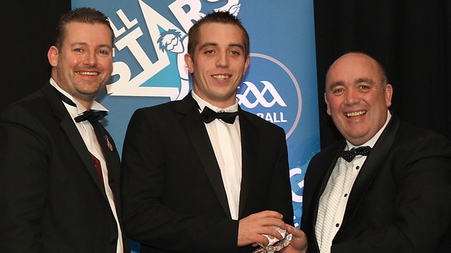 Robbie McCarthy won the male All Star Player of the Year