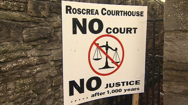 Courts Service closing Roscrea District Court