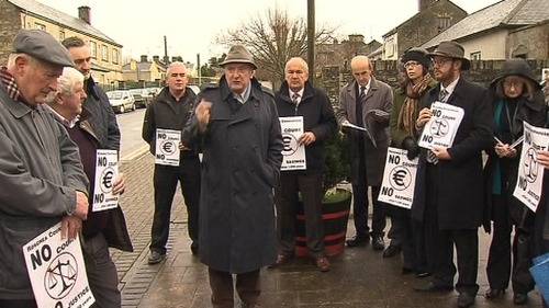 Solicitors staged walkout over move