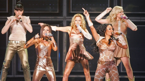 The girl group during their last World tour