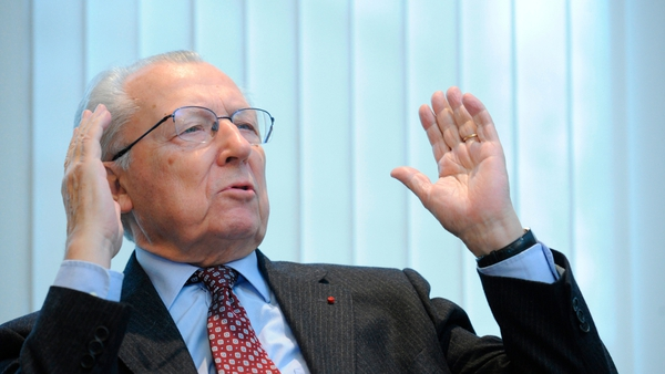 Delors singled out Germany as the biggest stumbling block