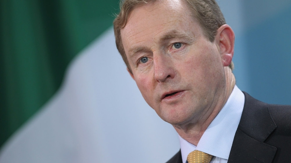 Satisfaction with Enda Kenny is down 14 points to 44%