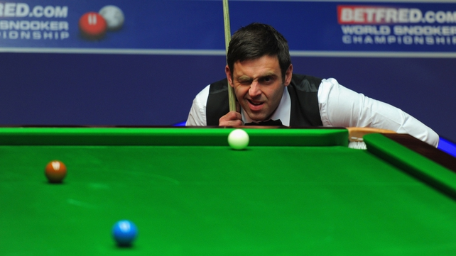 Ronnie O'Sullivan looks to have hit form at the right time in Sheffield
