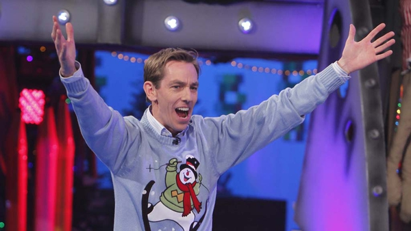"""Ryan Tubridy - """"If you see me driving along, or indeed walking along, and I'm either humming, singing, whistling, it probably is I'll give away the opening number of the Toy Show this year!"""""""