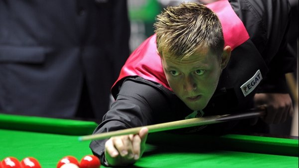 Mark Allen is out of the World Championship
