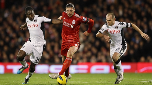 Andy Carroll barely got a look in under Liverpool manager Brendan Rogers
