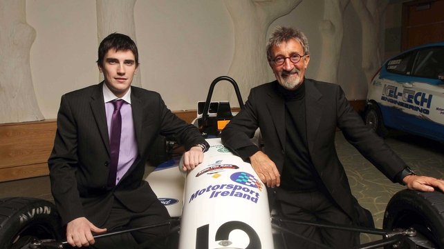 Craig Breen and Eddie Jordan were winners at the Motorsport Ireland awards