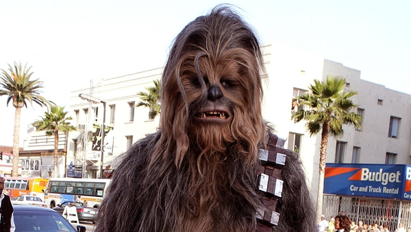 Chewbacca - Star of Glee