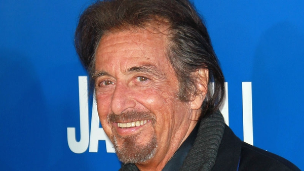 Pacino - To play ageing rock star who discovers that he has an adult son