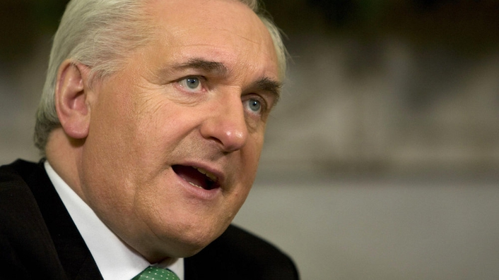 Bertie Ahern to appear before Banking Inquiry