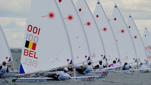 In contention - Annalise Murphy is now fifth in the Laser Radial class at Perth 2011