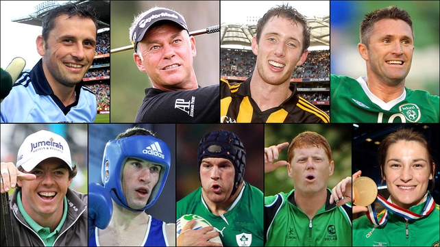 There are nine nominees for RTÉ Sports Person of the Year
