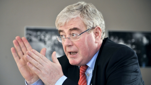 Eamon Gilmore says there is a single unified Government position on the issue