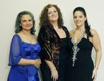 The Three Sopranos  (L-R): Regina Nathan, Cara O' Sullivan, Celine Byrne