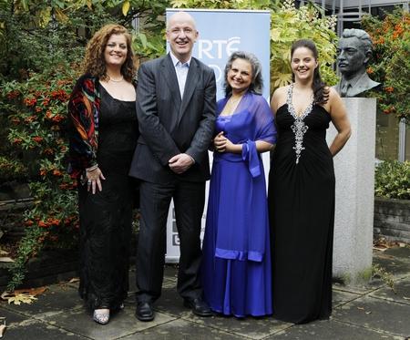 (L-R): Cara O' Sullivan, John Murray, Regina Nathan, Celine Byrne
