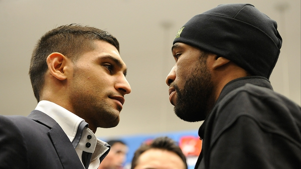 Amir Khan and Lamont Peterson are going get it on in Las Vegas on 19 May