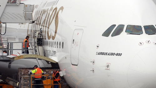 Fuel costs dropped and passenger numbers rose last year for Emirates Airlines