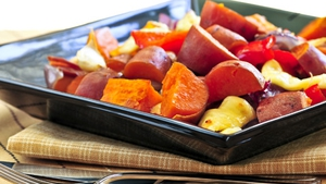 The Happy Pear's Roasted Root Vegetables