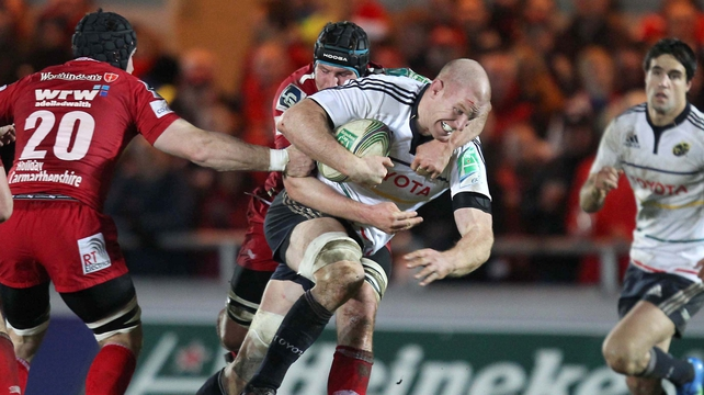 Paul O'Connell helped Munster to another narrow win in the Heineken Cup