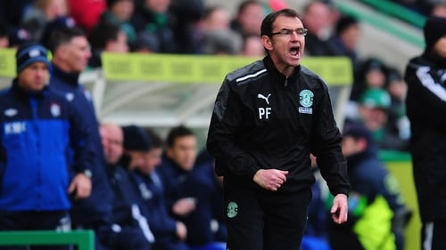 Pat Fenlon insists he was not headbutted by Leigh Griffith