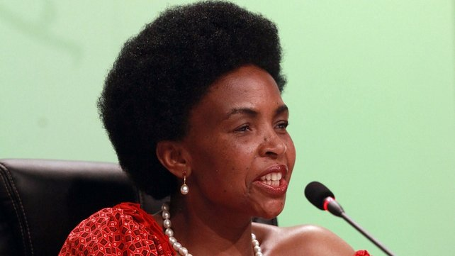 South African Foreign Affairs Minister and President of the 17th Conference of the Parties Maite Nkoana - Mashabane