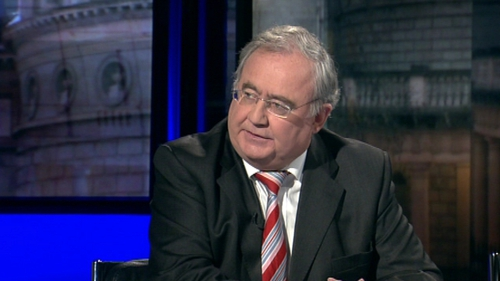 Minister Pat Rabbitte on The week in Politics