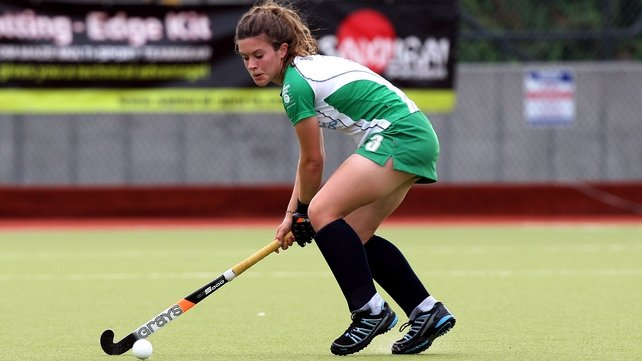 Michelle Harvey was amongst the scorers for Ireland