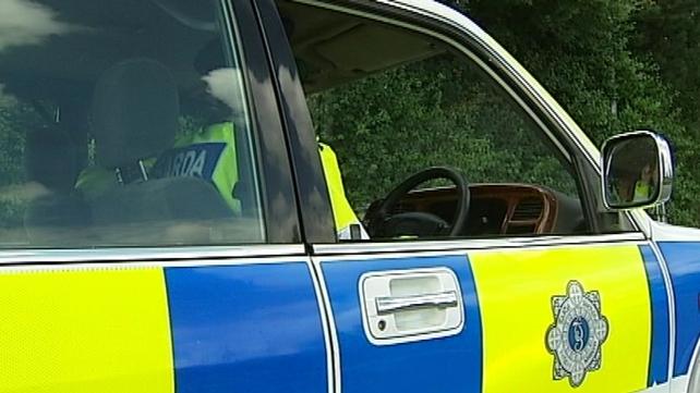 Search for man who stole garda car