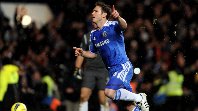 Frank Lampard could miss the weekend clash with Manchester United