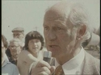 Jack Lynch campaigning for the 1977 general election.