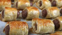 Sally Bee's Sausage Rolls - Sally's healthy and satisfying mini sausage rolls