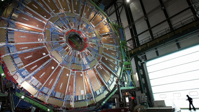 CERN's Large Hadron Collider is used to test various scientific theories