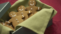 Gingerbread Men - This recipe makes perfectly crisp gingerbread biscuits which snap and crumble in the mouth.