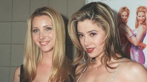 Mira Sorvino pictured right with Romy and Michelle co star