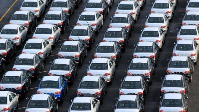 The total number of new cars licensed rose by almost 26% to 62,280 in the year to end of June