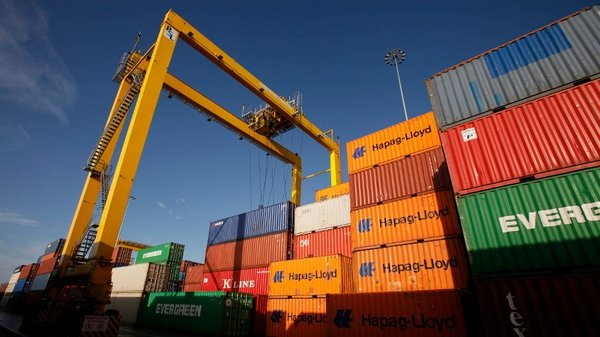 Exports to Great Britain were up 28%