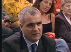 Noel Whelan taking part in The Late Late Show debate on electronic voting.