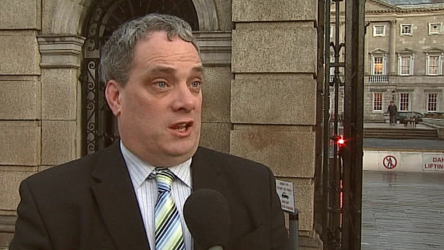 Aengus Ó Snodaigh said he was informing constituents of various changes and upcoming protests