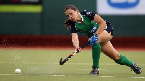 Cliodhna Sargent got on the scoresheet for Ireland
