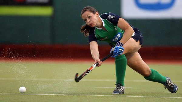 Cliodhna Sargent scored a brace for Ireland in Johannesburg