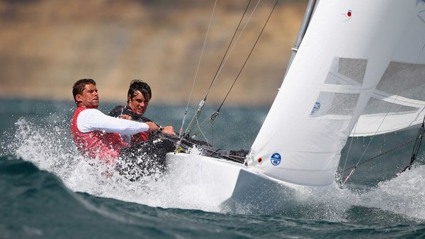 Peter O'Leary and David Burrows remain in contention in the Star fleet at the World Championships in Hyeres