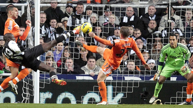 Demba Ba has been one of the stars of the Premier League this season