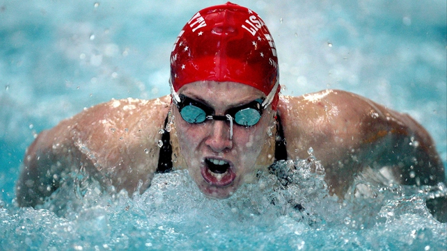 Bethany Carson set two national records in as many days in the 100 metres butterfly at the NAC