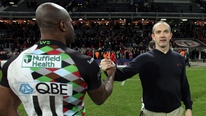 Harlequins coach Conor O'Shea discusses his team's Heineken Cup quarter-final clash with Munster and the vacant Ireland head coach position