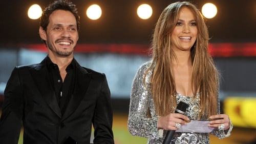 Lopez with former husband Marc Anthony