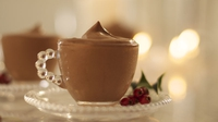 Chocolate Mascarpone Mousse  - Why not end your festive meal in indulgence, with this quick, simple and (relatively) light Chocolate mousse