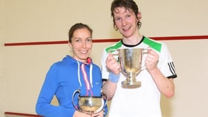 Past winners Madeleine Perry and Arthur Gaskin both won their semi-finals