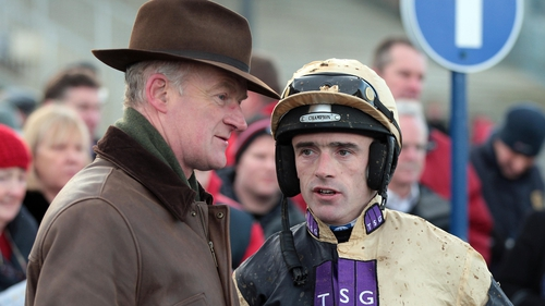 Willie Mullins and Ruby Walsh combined for victory at Fairyhouse
