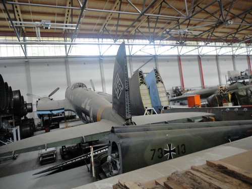 The Heinkel HE 111 at the Luftwaffe Museum, Berlin